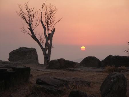 PICT0080 Sunset Preah Vihear